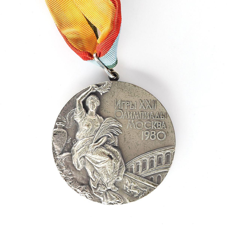 Srebrna medalja dubl skula iz Moskve 1980.