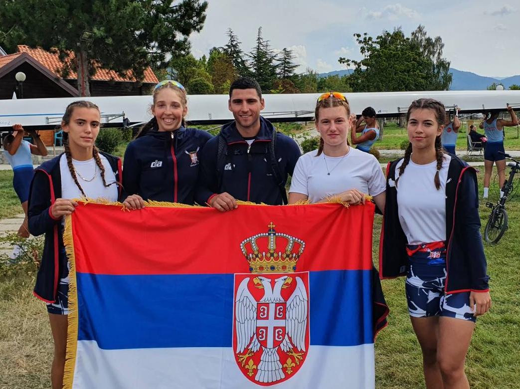 Ljubica Tešmanović, Snežana Jakovljević, Jelena Erić, Andrea Poleksić, Danilo Radovanović